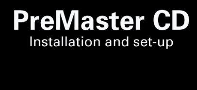 PMCD Le CD master (pré)