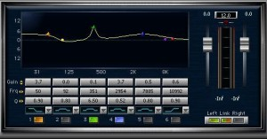 plugin mastering équalisation paramétrique
