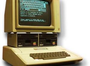 Apple IIe - juste avant le Mac