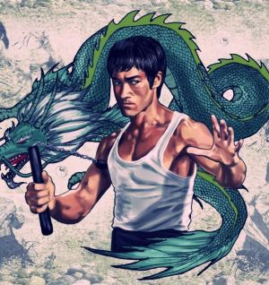 Dragon et compresseur
