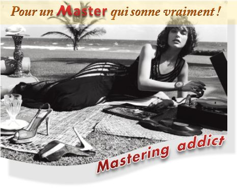 Mastering en écoute sur la plage